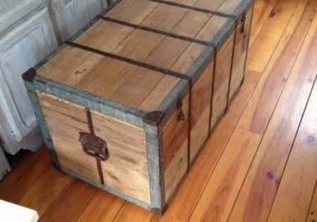 restaurer vieux coffre en bois brico pinterest salons decoration and industrial chic. Black Bedroom Furniture Sets. Home Design Ideas