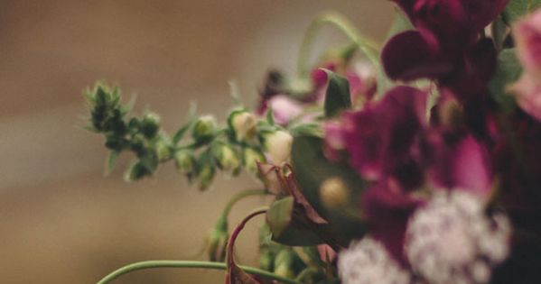 romantic deep purple blooms | Wedding Flowers | Pinterest ...