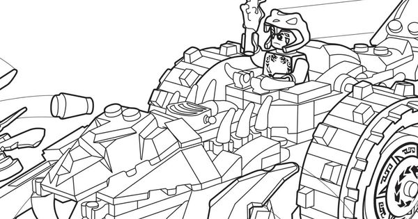 car2go lego coloring pages | LEGO Ninjago 70745 coloring sheet. | LEGO® Coloring Sheets ...