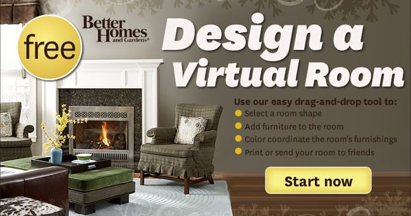 Design A Virtual Room Design Your Own Room Pinterest