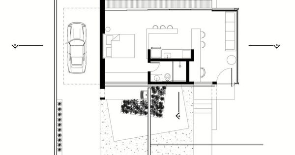 House is a modern bachelor pad in brazil it has a for Bachelor pad house plans