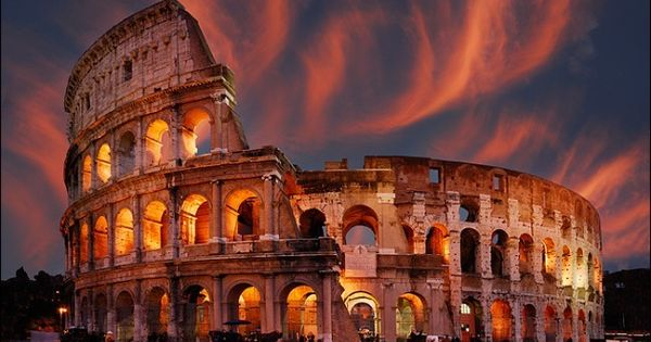 Hot Spring, Colleseum Rome Italy ◬