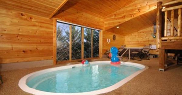 around 1 bedroom cabin with pool inside pigeon forge tn pool cabin