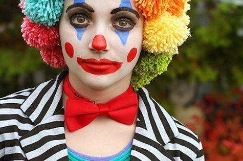 Tolle und simple diy schminktipps f r fasching diy for Clown schminktipps