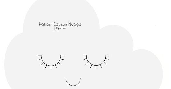 diy patron fabriquer coussin nuage patron gratuit t l charger bricolage et diy pinterest. Black Bedroom Furniture Sets. Home Design Ideas