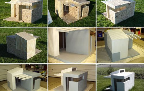 Your dog may not understand the architecture but it sure for Architecture and design dog house