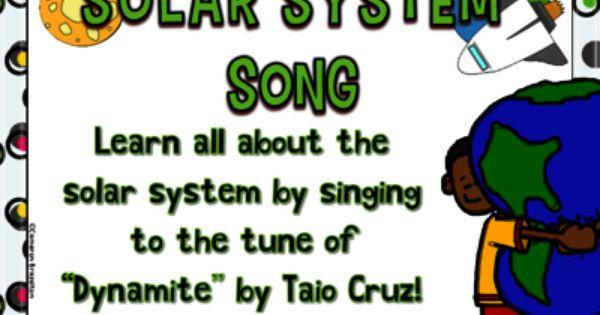 Solar System Song Lyrics Sun Seasons Orbit Constellations