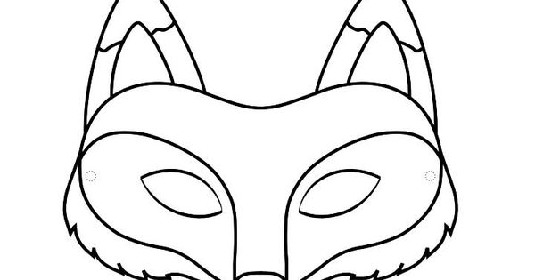 Top 25 Free Printable Fox Coloring Pages Online Fox Mask