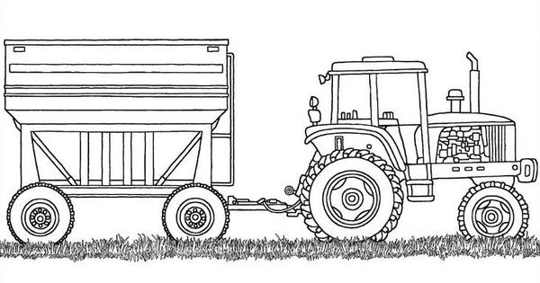 Coloring pages of farm equipment ~ farm equipment coloring sheet | coloring pages | Pinterest ...