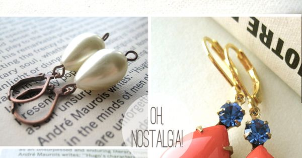 "Oh, Nostalgia! jewelry shop--""The Lovely Things Jewelry