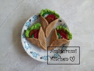Amigurumi Kitchen: Little Vegetables 2   240x320