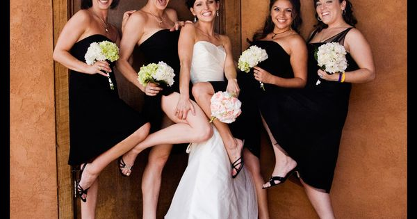 bridal party photos | ... Bliss: Putting the Party in Wedding Party:
