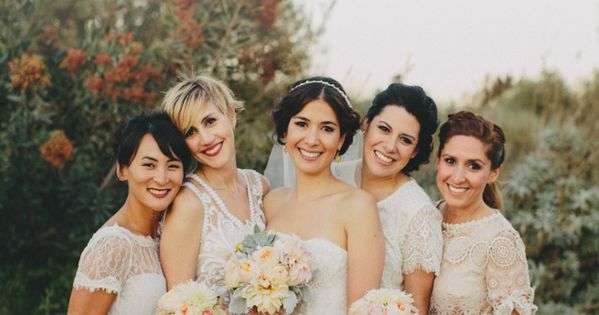 How to do mismatched bridesmaid dresses frugal wedding for Frugal fannies wedding dresses