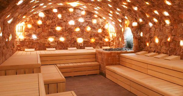sauna devarana sauna beauty resort himalayan salt sauna pinterest saunas spa and. Black Bedroom Furniture Sets. Home Design Ideas