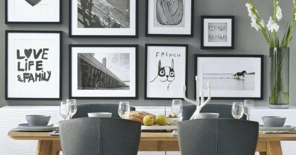 15 ideas para decorar las paredes de tu comedor pared for Ideas para decorar paredes de comedor