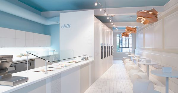 Chill Frozen Yogurt In St Louis Mo Using Formica Solid