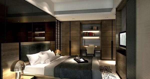 Service Apartment Interior Design Mocha Unit01 4
