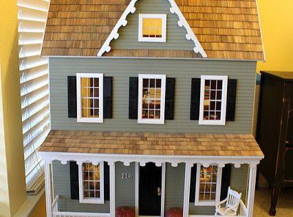 Beautiful Diy Dollhouse Kit From Hobby Lobby I Want To