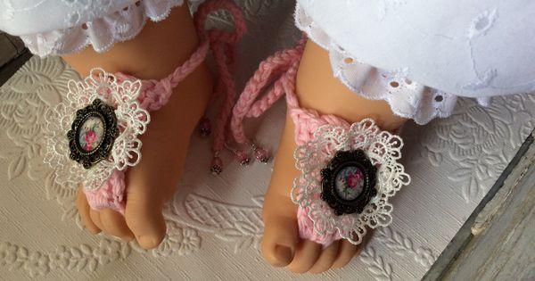 Boho sandals - photo