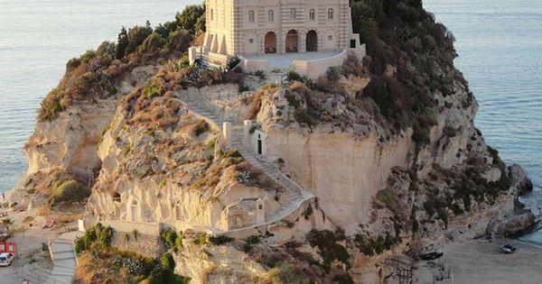 Castle on the Beach - Tropea, Italy travel location italy -