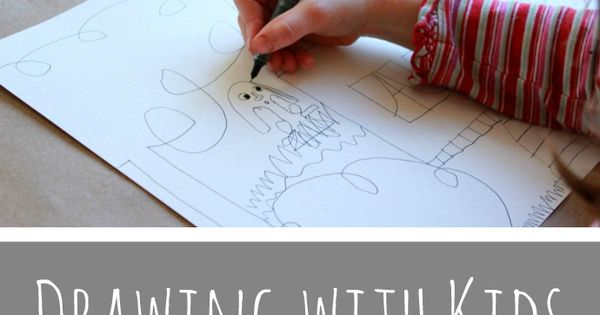 Drawing with Kids with the Monart Method -- Getting started I am
