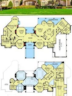 Plan 36441tx Dream Home Plan With Heart Shaped Bedroom Dream House Plans Luxury House Plans House Plans