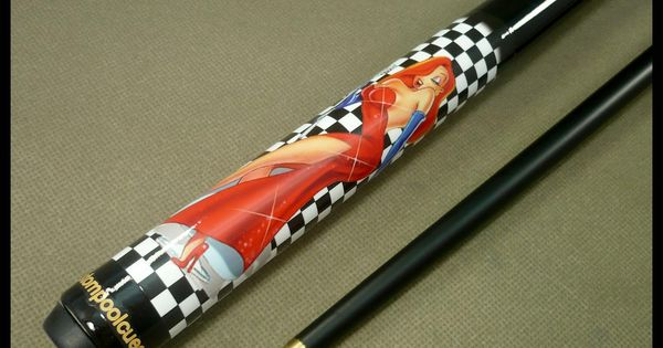 The jessica rabbit cue has always been one of my for Pool cues design your own