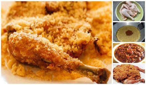 Resep Ayam Goreng Kremes Ala Ny Suharti Nikmatnya Hingga Gigitan