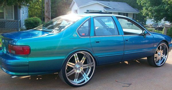 Becausess 94 95 96 Impala Ss 7 Spoke Asanti Af146 Wheels