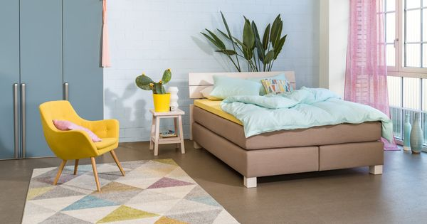 micasa schlafzimmer mit boxspringbett classic und drehtürenschrank, Hause deko
