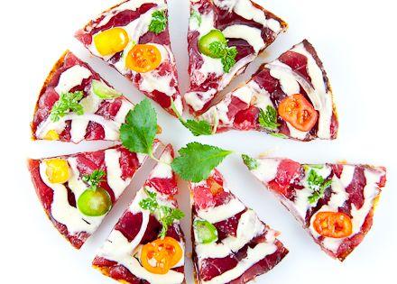 Morimoto tuna pizza recipe
