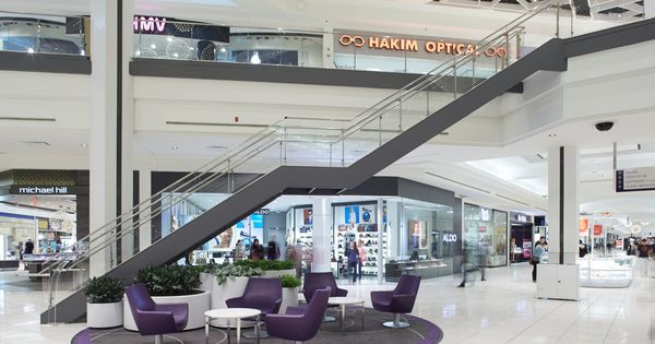 Monumentalstair By Synergi For The St Laurent Mall Want This Look Contact Us Info Synergillc Com Architecture F Architecture Railing Stairs