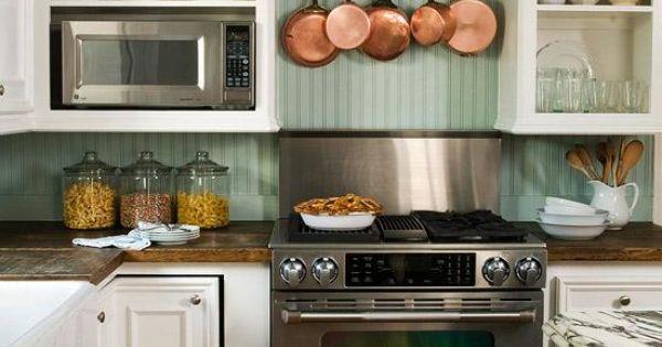Kitchen Backsplash Ideas Copper Stove And Kitchen Colors