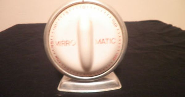 Vintage Kitchen Timer 195060S Lux Time Mirro Matic Egg Food
