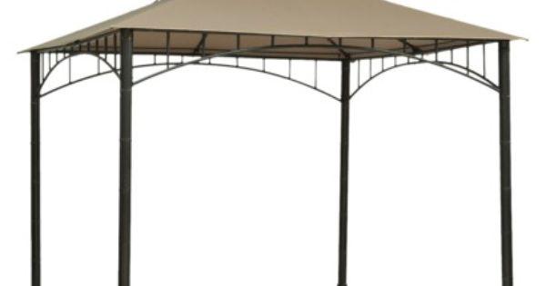 Threshold Madaga 10 X 10 Replacement Gazebo Canopy Olive With Images Gazebo Canopy Gazebo Patio Canopy