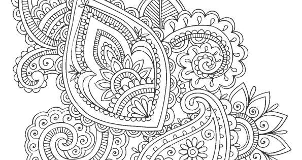 Coloriage Les Mandalas Fleurs Sur Hugo 23 Sur Coloring
