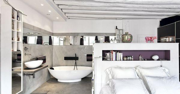 Dans la maison familiale la suite parentale incarne un for Suite parentale petit espace