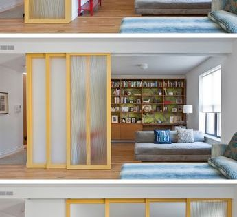 12 Install Sliding Walls For Privacy While Maintaining An Open Feel 29 Sneaky Tips Petit Appartement Amenagement Maison Vivre Dans Un Petit Appartement