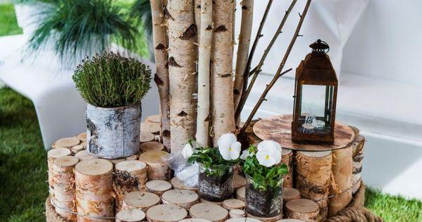 ein selbst gemachter gartentisch aus birkenholz f r die lounge ecke im garten und garantiert. Black Bedroom Furniture Sets. Home Design Ideas