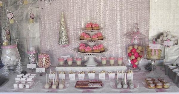 Pink Winter Party Ideas