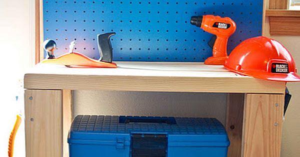 diy play tool bench