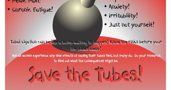 Spread The Word About Post Tubal Ligation Syndrome Ptls