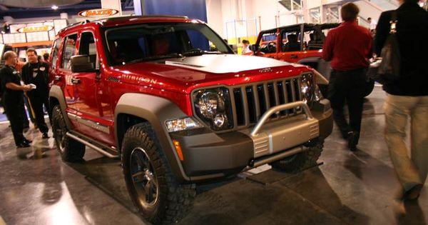 Lifted Jeep Renegade >> custom jeep liberty bumpers   Black 2011 Jeep Liberty ...