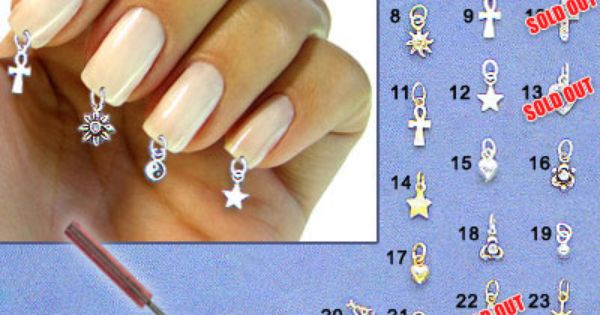 Dangle Nail Charms Best Designs 2018