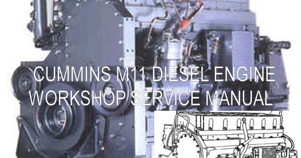 Details About Cummins M11 Series Service Manual Workshop border=