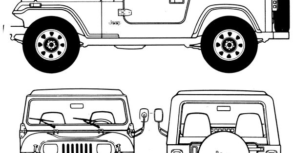 View More Car Blueprints Jeep Wrangler Suv