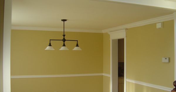 chair rail and crown molding house project ideas pinterest