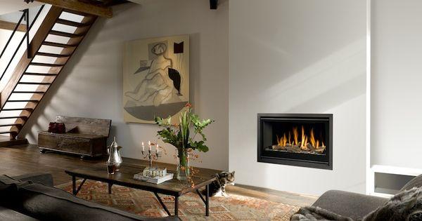 Bellfires Unica 2 90 Gashaard Indoor Fireplace Fireplace