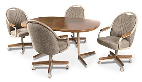 Top 10 Dinette Chairs With Casters Of 2020 With Images Dinette Chairs Caster Chairs Dinette Sets
