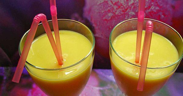 mangococktail mit rum und joghurt getr nke mit u ohne alkohol pinterest rezepte und rum. Black Bedroom Furniture Sets. Home Design Ideas